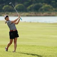グリップ短く持つんだ 2020年 日本女子プロゴルフ選手権大会コニカミノルタ杯 最終日 田辺ひかり