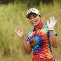 今日も元気に行ってらっしゃい 2020年 日本女子プロゴルフ選手権大会コニカミノルタ杯 最終日 竹内美雪