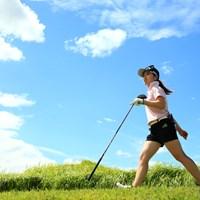 最終組の優菜ちゃん 2020年 日本女子プロゴルフ選手権大会コニカミノルタ杯 最終日 西村優菜