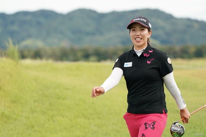 行進 2020年 日本女子プロゴルフ選手権大会コニカミノルタ杯 最終日 笠りつ子