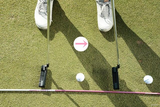 ヘッドアップは頭の意識だけでは直らない! 吉川桃 練習中も目線はボールの位置のまま…