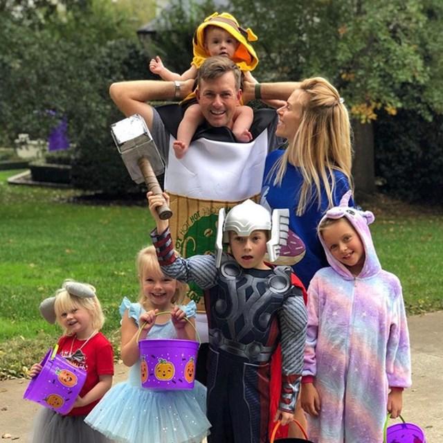 ウェブ・シンプソン ツアーのトップ選手として、大家族の父としての役割は大きく違う(提供PGATOUR)