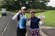 2020年 PGM Challenge II  2日目 三浦桃香と幡野夏生