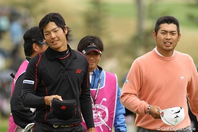 2日間を同組で回った石川遼と池田勇太。明暗が分かれる2日目となった