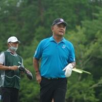 地元開催の日本シニアオープンを首位で折り返した寺西明 2020年 日本シニアオープンゴルフ選手権競技 2日目 寺西明