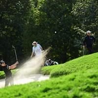 石川遼は苦しみながらカットライン上で踏みとどまった(Robert Beck/USGA) 2021年 全米オープン 2日目 石川遼