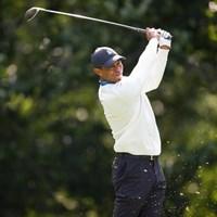 ウッズはまたもウィングドフットGCに敗れた(Simon Bruty/USGA) 2021年 全米オープン 2日目 タイガー・ウッズ