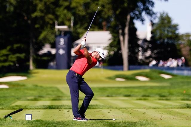 ムービングデーに「65」をマークしたウルフがメジャー初制覇へ(Darren Carroll/USGA)