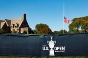 2021年 全米オープン 3日目 半旗