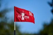 2021年 全米オープン 3日目 旗