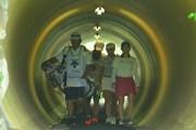 2020年 デサントレディース東海クラシック 最終日 トンネル