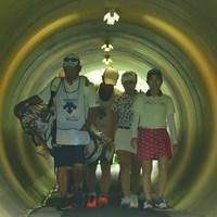 不思議なトンネルなのです。 2020年 デサントレディース東海クラシック 最終日 トンネル