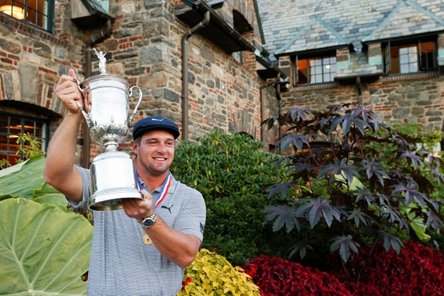 2021年 全米オープン 4日目 ブライソン・デシャンボー デシャンボーが逆転でメジャー初勝利(John Mummert/USGA)