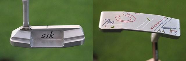 2021年 全米オープン 4日目 デシャンボーのパター パターはSIK。ピン型のプロトタイプを使う(提供GolfWRX、PGATOUR.COM)