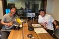 丸山茂樹のレギュラーラジオ番組に初出演した星野陸也(提供写真)