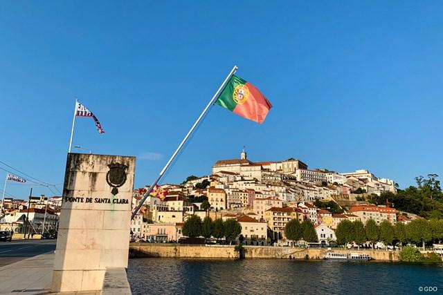 2020年 ドバイデューティーフリー アイルランドオープン 事前 コインブラの街並み ポルトガル・コインブラの伝統的な風景