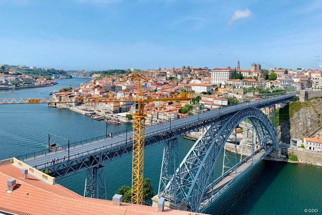2020年 ドバイデューティーフリー アイルランドオープン 事前 ポルトの街並み ポルトガルのポルトの街並みは世界遺産