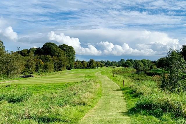 2020年 ドバイデューティーフリー アイルランドオープン 事前 ガルゴルム-キャッスルGC 開催コースのガルゴルム-キャッスルGC。晴れ間の見える時間帯もありますが…