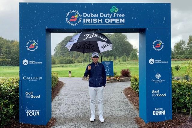 2020年 ドバイデューティーフリー アイルランドオープン 事前 川村昌弘 雨が落ちる北アイルランド