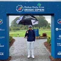 雨が落ちる北アイルランド 2020年 ドバイデューティーフリー アイルランドオープン 事前 川村昌弘