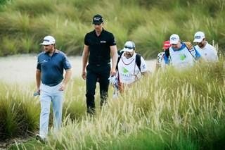 「正常化の一歩」 PGAツアーでプロアマ復活、VIPエリアにのみギャラリー