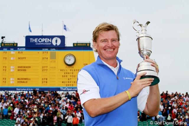 2012年 全英オープン 最終日 アーニー・エルス 2012年「全英オープン」を制したアーニー・エルス