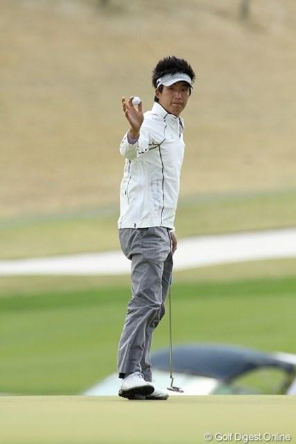 謎の韓国人J.チョイ。通算1オーバーで3日目を終え、3位タイで最終日を迎える