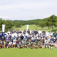 イベントには若者や家族連れも多く参加。雰囲気がゴルフとは違う 2020年 フットゴルフ 高橋陽一カップ