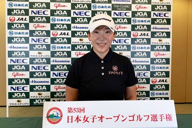 申ジエは復帰戦で史上初の国内メジャー全勝に挑む(大会提供)