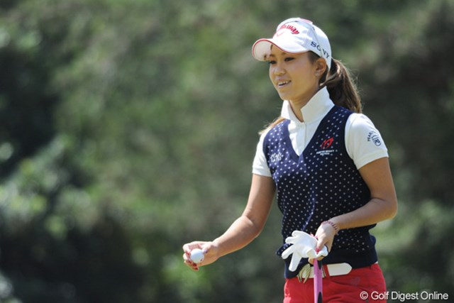 上田桃子/西陣レディスクラシック2日目 「ショットで攻めなくてもスコアが作れた」と新たなゴルフスタイルを見出した上田桃子