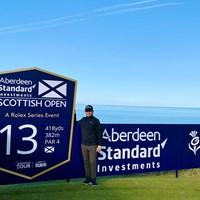 今週はスコットランドで高額賞金大会ロレックスシリーズ! 2020年 ASIスコットランドオープン 事前 川村昌弘