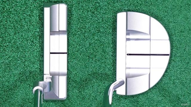 左が「ニューポート2」右が「フローバック5」。ともに角の丸みが増した印象