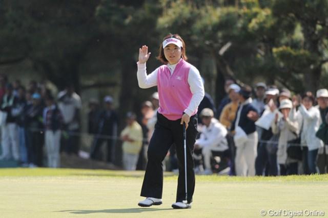 不動裕理/西陣レディスクラシック2日目 さすが熊本ゴルフ界の顔!不動裕理が首位と2打差の2位タイで最終日へ