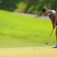 上田桃子は新しいパターがスコアメークに貢献 2020年 日本女子オープンゴルフ選手権 初日 上田桃子