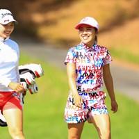 小祝さくらと古江彩佳は予選同組でプレー 2020年 日本女子オープンゴルフ選手権 初日 小祝さくら 古江彩佳