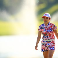 連続ボギーなしの記録更新を逃した古江彩佳 2020年 日本女子オープンゴルフ選手権 初日 古江彩佳