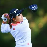 シャネルのピアスはもう彼女のトレードマーク 2020年 日本女子オープンゴルフ選手権 初日 鈴木愛