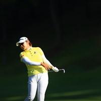 ん!?眩しいいの? 2020年 日本女子オープンゴルフ選手権 初日 藤田さいき