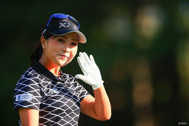 2020年 日本女子オープンゴルフ選手権 初日 青木瀬令奈 カメラマンの仕事はやめられなーーーい!!