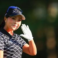 カメラマンの仕事はやめられなーーーい!! 2020年 日本女子オープンゴルフ選手権 初日 青木瀬令奈