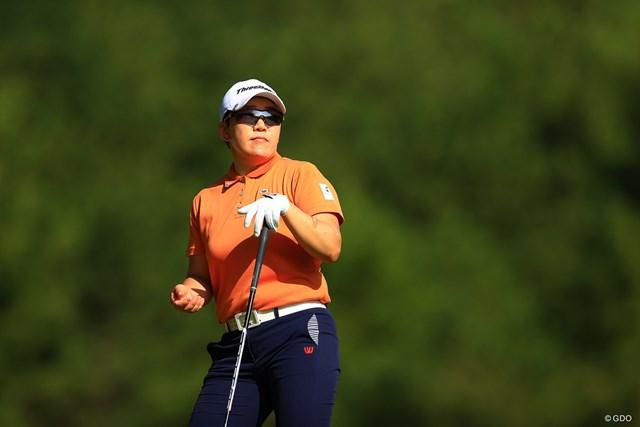 2020年 日本女子オープンゴルフ選手権 初日 申ジエ おかえりジエ!!
