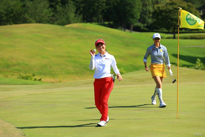 大舞台でホールインワン!! 2020年 日本女子オープンゴルフ選手権 初日 佐久間朱莉