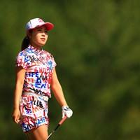 今日一番印象に残ったセットアップ 2020年 日本女子オープンゴルフ選手権 初日 古江彩佳