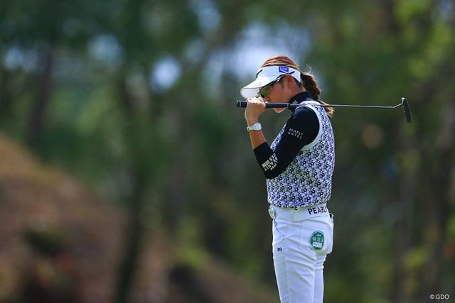 2020年 日本女子オープンゴルフ選手権 初日 原英莉花 パットをバットに変えたらコンプライアンスにひっかかる件