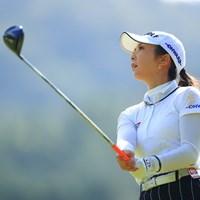 最近横顔がひそかにマイブーム 2020年 日本女子オープンゴルフ選手権 初日 菊地絵理香