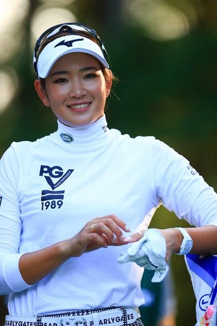 2020年 日本女子オープンゴルフ選手権 2日目 原英莉花 残念ながらこの写真は表参道には売っていません