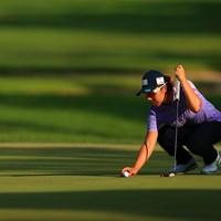 3アンダー5位T 。今日スコアを4つ伸ばし急上昇 2020年 日本女子オープンゴルフ選手権 2日目 岡山絵里