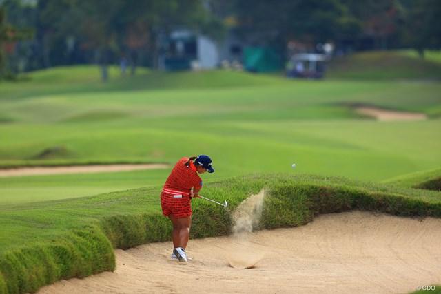 2020年 日本女子オープンゴルフ選手権 2日目 鈴木愛 鈴木愛は今季初優勝を目指す