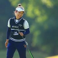 こんな時代を笑顔で変えて!! 2020年 日本女子オープンゴルフ選手権 2日目 田中瑞希