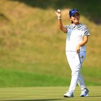 カメラマンが来るとバーディ説 2020年 日本女子オープンゴルフ選手権 2日目 青木瀬令奈